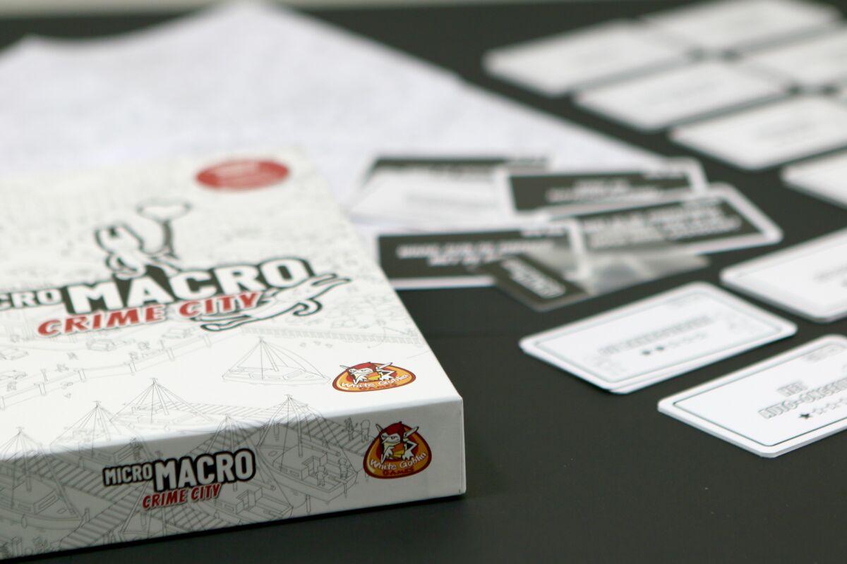 Micro Macro Crime City – detektivi u slici